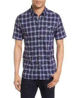 Ted Baker Kryko Extra Slim Fit Check Sport Shirt