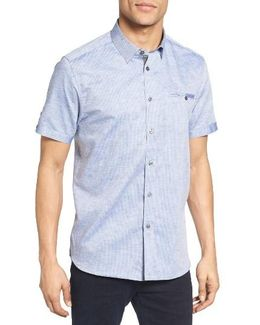 Caycay Mini Bobby Modern Slim Fit Sport Shirt