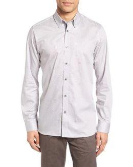 Tidal Extra Slim Fit Print Sport Shirt