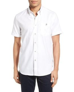 Wooey Extra Slim Fit Mini Texture Sport Shirt