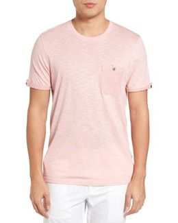 Apel Print Pocket T-shirt