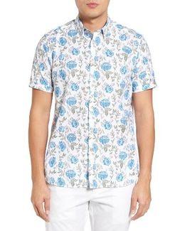 Jorge Floral Print Shirt