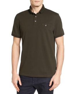 Clay Textured Collar Polo