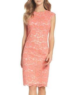 Lace Body-con Dress