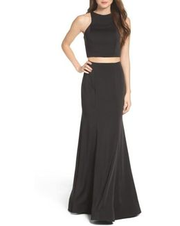 Two-piece Gown