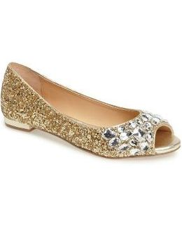 Claire Embellished Flat