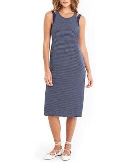 Layered Knit Tank Dress