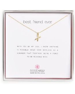 Best Friend Ever Pendant Necklace