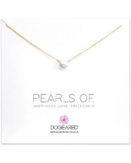 Pearls Of. Pendant Necklace
