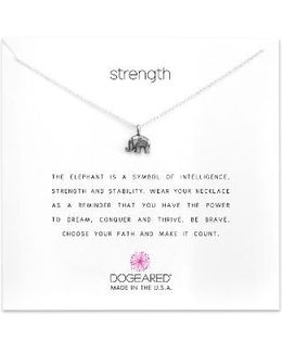 Reminder - Strength Pendant Necklace