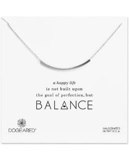 Balance Tube Chain Necklace