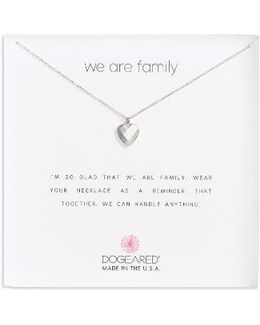 We Are Family Pendant Necklace