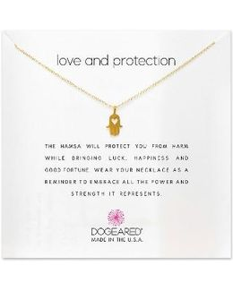 Love & Protection Pendant Necklace