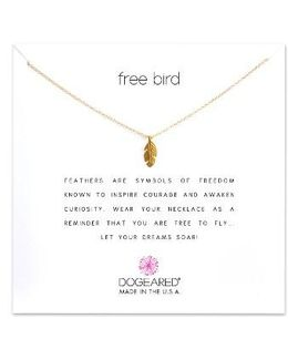 Reminder - Free Bird Pendant Necklace