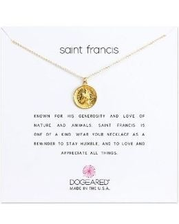 Saint Francis Pendant Necklace