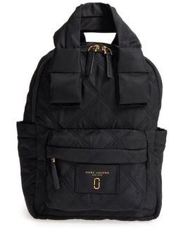 Nylon Knot Backpack