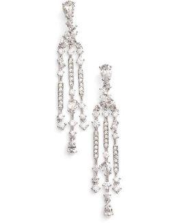 Ava Crystal Chandelier Earrings