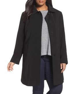 Nepage Walking Coat With Removable Hood & Liner