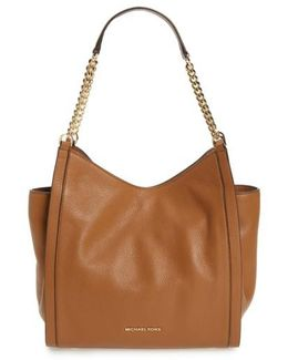 Medium Newbury Leather Tote