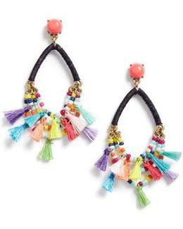 Merengue Drop Earrings
