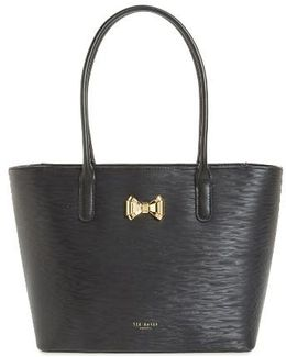 Small Leather Shopper