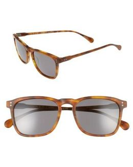 Wiley 54mm Sunglasses - Rootbeer