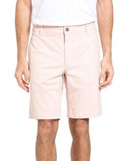Stretch Twill Walking Shorts