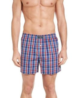 Classic Woven Cotten Boxers