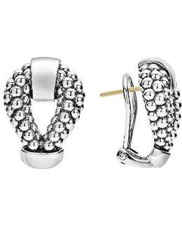 Derby Caviar Stud Earrings