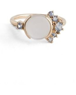 Moonstone & Sapphire Ring (nordstrom Exclusive)
