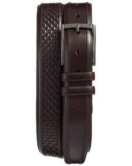 Parma Woven Leather Belt