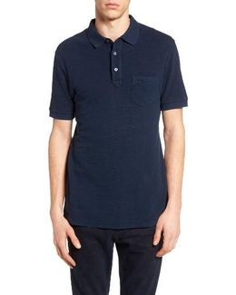 Slub Knit Polo
