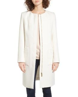 Kirliye Zip Front Car Coat