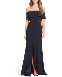 Jersey Popover Gown