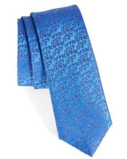 Mini Wild Flower Silk Tie
