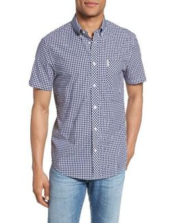 Core Mod Fit Gingham Shirt