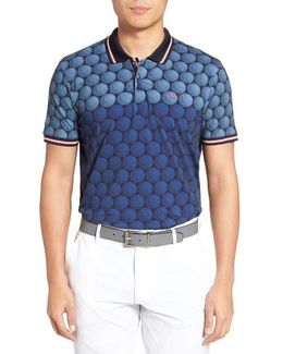 Birdy Print Golf Polo