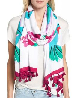 Hummingbird Oblong Scarf