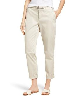 Roll Cuff Ankle Pants