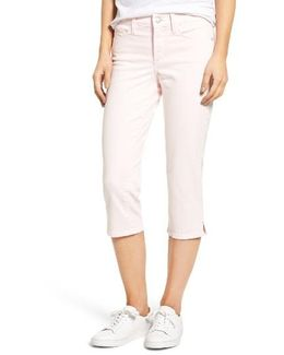 Marilyn Stretch Cotton Crop Pants