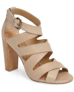 Jimmy Block Heel Sandal