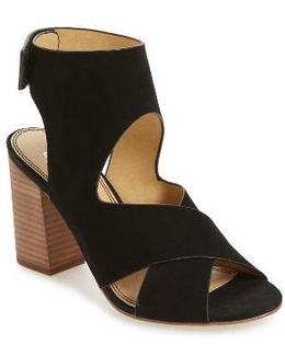 Jerry Block Heel Sandal