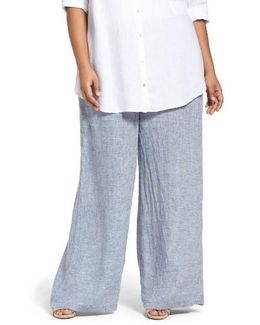 Drifty Linen Wide Leg Pants