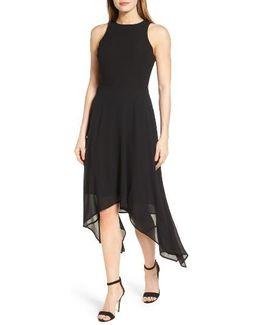 High/low Georgette Dress