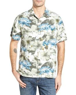 Garden Of Hope And Courage Silk Camp Shirt