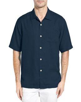 Royal Bermuda Silk Blend Camp Shirt