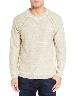 Sandy Bay Reversible Crewneck Sweater