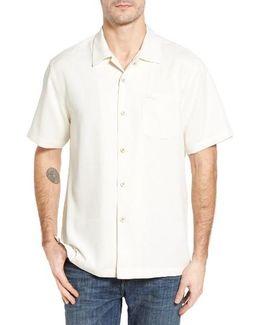 Royal Bermuda Standard Fit Silk Blend Camp Shirt