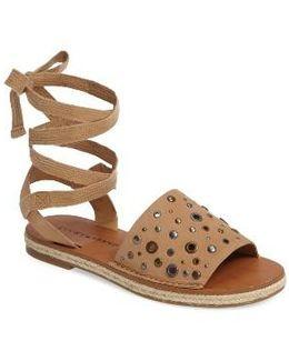 Daytah Ankle Tie Sandal