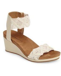 Kierlo Wedge Sandal